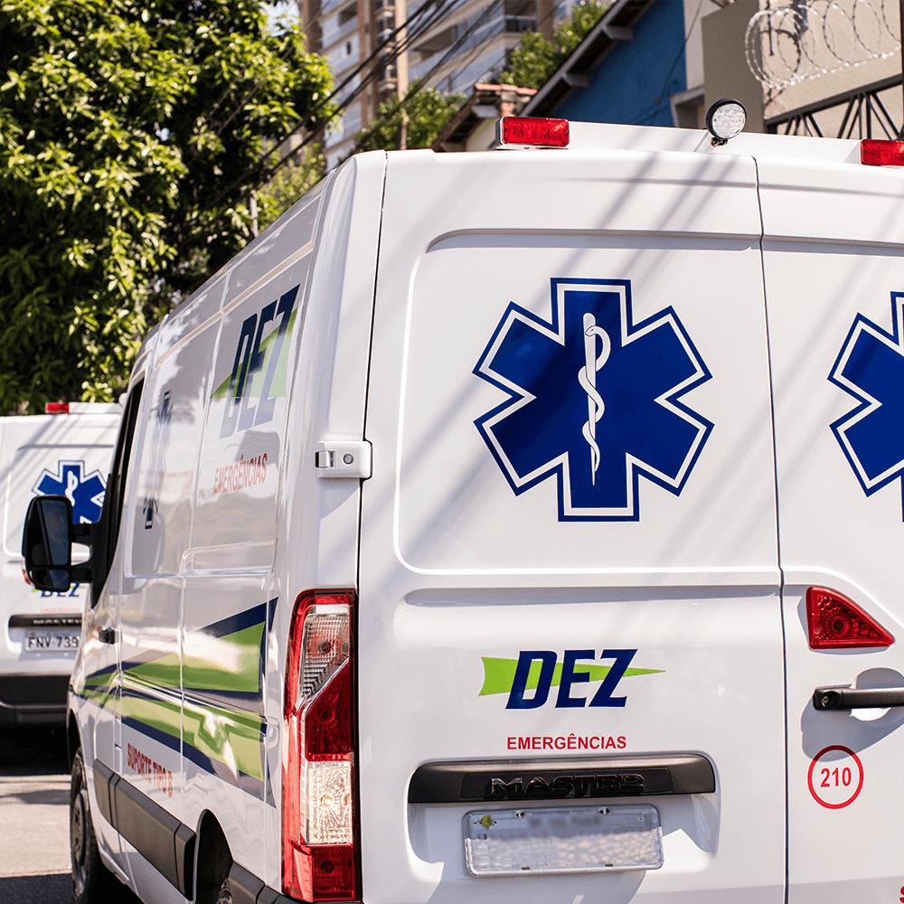 Ambulância para eventos
