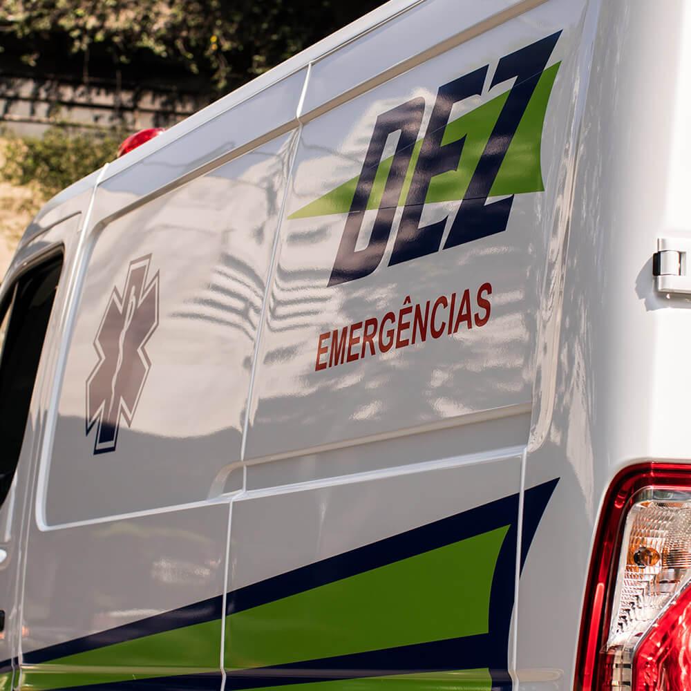 Frota de Ambulância 24h para Atendimento Pré-Hospitalar