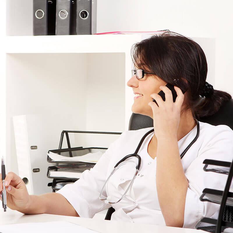Orientação Médica por Telefone