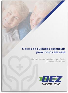 E-book 5 dicas de cuidados essenciais para idosos em casa